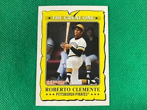 2021 Topps Heritage The Great One #GO11 Roberto Clemente Pittsburgh Pirates