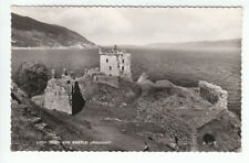 Castle Urquhart Loch Ness Inverness 1934 Real Photograph Valentines A429 Old PC