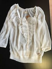 HOLLISTER Top White Woman Small
