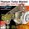 Turbo Blanket Beanie Heat Shield fits Subaru WRX STI LIBERTY FORESTER TD05 EJ25