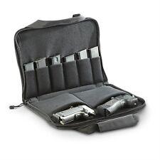 Discreet Padded Gun Pistol Magazine Pouch Case Range Bag Carry Storage