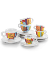 illy Art Collection 2019 Biennale 2 Espresso Cups & Saucers  Limited Edition