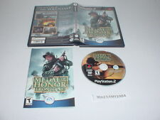MEDAL OF HONOR : FRONTLINE game complete w/ instructions Playstation 2 PS2 - BL