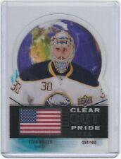 2012-13 Upper Deck Clear Cut Pride #4 Ryan Miller /100