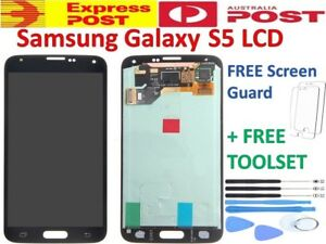 For Samsung Galaxy S5 LCD Touch Screen Digitizer Assembly Replacement AUS