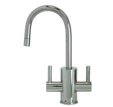 Mountain Plumbing-Mt1841-Nl/Cpb-Ho t &Cold Mini Water Dispenser- Polished Chrome