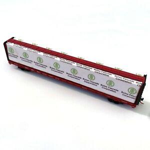 N Scale 73' Centerbeam Car RED CABOOSE RN-16601-16 CSXT 600616