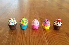 Cupcake Charms Lot Of 5