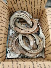 20 Used Steel Horseshoes Straight from Montana Patina Included Fast Ship