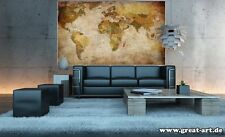 Vintage world map poster retro photo wall paper mural hanging giant world map poster vintage retro photo wall paper mural hanging large globe gumiabroncs Gallery