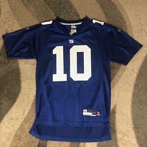 Reebok Eli MANNING New York Giants NFL Jersey Youth L 14-16