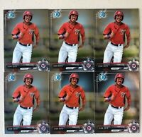 *READ* Lot of 6 Juan Soto 2017 Bowman Chrome Mini Prospect Cards Nationals