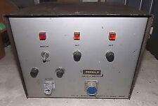 DOUBLE ALIMENTATION CONSOLE 2X 33V MONDIAL ELECTRONIQUE BSM 69 VINTAGE