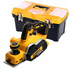 DeWalt DCP580 18V XR Brushless Planer With 19 inch/49cm Tool Storage Box