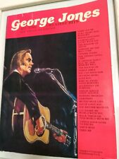"""George Jones Songbook """"All-Time Greatest Hits"""" Complete Vintage RARE!"""