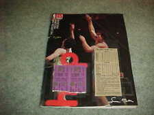 1981 San Diego Clippers v Milwaukee Bucks Basketball Cover 1/4 with tickets