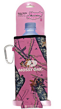 Mossy Oak Camouflage Handy Bottle Hugger Holder Koozie Pink Neoprene New Free Sh