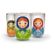Bicchieri brocche , carraffi e decanter multicolori vetro