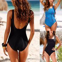 Women's One Piece Swimsuit Swimwear Beach Bathing Push UP Monokini Padded Bikini