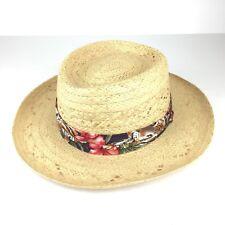 Biltmore L/XL Straw Hat Tropical