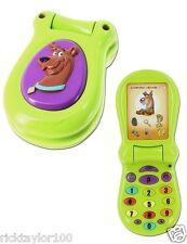 NEW SCOOBY-DOO NETWORK RING RING FLIP-UP PHONE CHILDREN INSIPIRATION WORKS 2TUNE