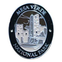 Mesa Verde National Park Walking Hiking Stick Medallion - Colorado