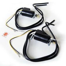 NEW 2x Suzuki IGNITION COILS coil pack wires 4 ohm gs1150 gs1100 gs1000 gs850 gs