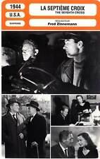 FICHE CINEMA : LA SEPTIEME CROIX - Tracy,Hasso,Zinnemann 1944 The Seventh Cross