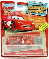 Pixar Cars WELCOME TO RADIATOR SPRINGS - LIGHTNING MCQUEEN Die Cast CAR Disney
