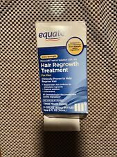 Equate Extra Strength Hair Regrowth Treatment For Men Open Box New! 5/2021