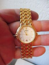Beautiful Wrist Watch __ Adec __ Stainless Steel Gold-Plated__New