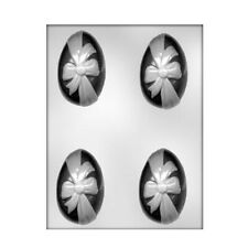 CK Products 90-2625 Egg with Ribbon Plastic Chocolate Mold, 3-1/4
