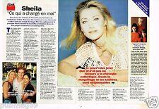 Coupure de presse Clipping 1996 (3 pages) Sheila