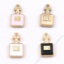 Pink/ Perfume bottles Charm Pendant Accessories Jewelry Making Small Pendant 995