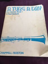 Vintage A Tune A Day For Clarinet Book 1.