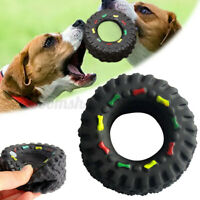 Dog Toys For Small Large Dogs Puppy Playing Training  Interactive Chew Tyre  AU