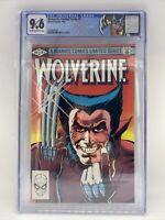 Wolverine Limited Series W/ Custom Label CGC 9.6!!!