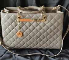 DKNY quilted leather shoulder bag as new