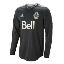 Vancouver Whitecaps FC Adidas Men's Grey Authentic On-Field Long Sleeve Jersey