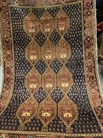 RARE FINEST 100% VINTAGE TRADITIONAL MAHAL WOOL TRIBAL RUG 4X6 FT RUGS CARPETS