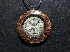 Vegvisir Pendant, spiritual, norse protection amulet, travel protection jewelry