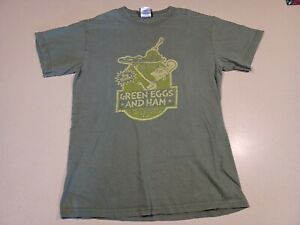 Vintage 2001 Dr. Seuss Green Eggs And Ham Shirt Size XL