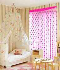 Homefab India Set of 2 Beautiful Pink Heart Door Curtains (HF272)