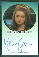 Orville Season 1  Giorgia Whigham as Lysella  Autograph Card