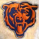 "Внешний вид - Chicago Bears 3.5"" Bear Iron/Sew On Embroidered Patch ~ US Seller ~ FREE Ship!"