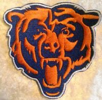 """Chicago Bears BIG Bear 3.5"""" Iron On Embroidered Patch ~US Seller~FREE Ship!"""