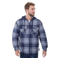 Dickies® Men's Flannel Hooded Shirt Jackets 2XL Black/Navy/Gray NWT NEW