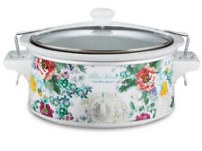 NEW Pioneer Woman 6 QT Crockpot Slow Cooker for Tailgate Parties COUNTRY GARDEN