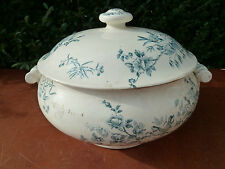 Antigua sopera en cerámica de Longwy
