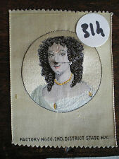 Very Rare Silk Tisse Medallion Woman 314